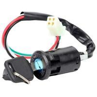 Ignition Key Lock Switch 4 Wire for 50 110 150 250CC Mini Quad ATV Dirt Bike