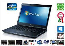 COMPUTER PORTATILE DELL E6410 CPU INTEL CORE i 5 M560 4GB RAM DDR3 WINDOWS 10