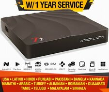 Dreamlink T2 IPTV BOX - W/1 YEAR SERVICE - INDIAN ARAB PUNJABI TELUGU