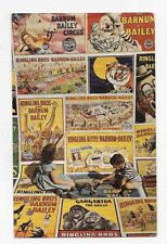 RINGLING BROS BARNUM BAILEY CIRCUS OLD POSTERS Unposted Post Card #3869