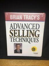 (Cq) Brian Tracy'S Advanced Selling Techniques Cd Version Series - Sealed