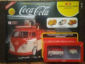 fourgon VOLKSWAGEN T1 PANEL VAN + REMORQUE  Coca Cola au 1/43
