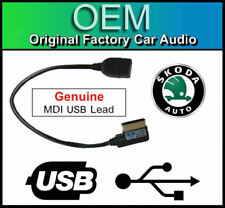 Skoda Columbus MDI USB lead, media in interface cable adapter