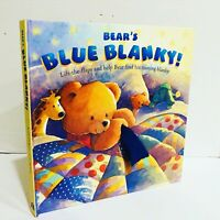 Bear's Blue Blanket Lift The Flaps  Pop Up Book by Keith Faulkner Rare New