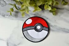POKEMON PLAY Outdoors PIKACHU Video Gamer Game Phone Iron on Patch Patches Badge
