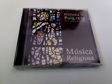 """POLIFONICA DE PUIG REIG """"MUISCA RELIGIOSA"""" CD 18 TRACKS"""