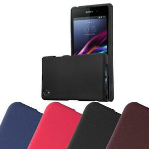 Silicone Case for Sony Xperia Z1 Compact Shock Proof Cover Mat TPU Bumper