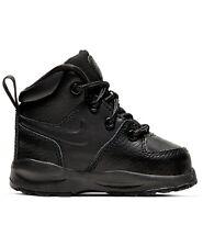Nike Little Kids Manoa Leather Boots 7C-10C Black New