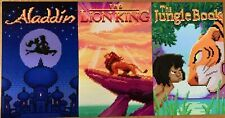 Disney Classic Games Bundle and Art: Aladdin, The Lion King, and The Jungle Book