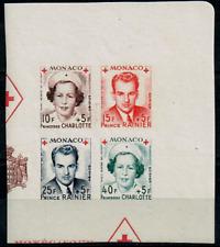 TIMBRES MONACO Année 1949 BLOC n°334B au n°337B NEUF** SUPERBE