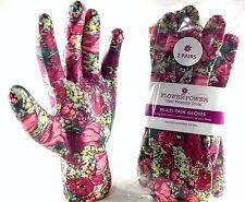 2 Pairs Ladies Gardening Gloves - Lightweight and Durable Work Gloves for Women