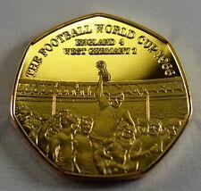 Football World Cup 1966 24ct Gold Commemorative Album/Filler Collectors, New!