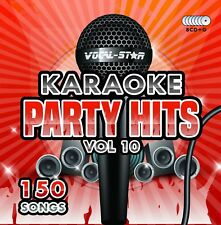 VOCAL-STAR PARTY HITS 10 KARAOKE CDG CD+G DISC SET 150 SONGS