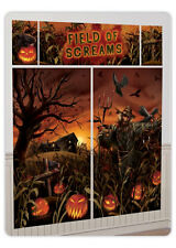 Campo de gritos Kit De Decoración De Pared Calabaza de Halloween Fiesta Banner mal 670452