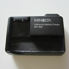 Minolta Lithium-ion Battery Charger BC-300 Input 100-240V Output 4.2V