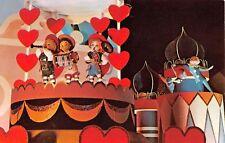 Walt Disney World postcard It's A Small World Fantasyland