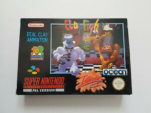 Clayfighter - Super Nintendo SNES game - [CIB PAL UKV] boxed with manual