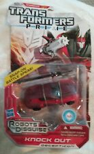 Transformers Prime Knock Out Robots In Disguise MOSC