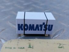 1/64 ertl custom farm toy Pallet komatsu construction skid parts dcp s scale