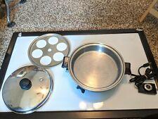 Saladmaster 7817 11'' Electric skillet w/ vapor lid