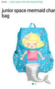 SMIGGLE GIRL'S Junior School BACKPACK, MERMAID, 25x36.5x13cm, Brand NEW $45.00