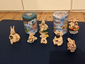Piggin' Ornament Collection (7 Piggins')