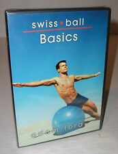 DVD: Swiss Ball Basics-Adam Ford-Activate deep core muscles in abs and back-2004