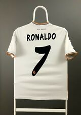 REAL MADRID 2013 2014 HOME FOOTBALL SOCCER JERSEY ADIDAS RONALDO #7 Youth M
