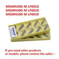 DESKAR MGMN400-M LF6018 CNC Grooving Carbide Inserts For Stainless steel 10Pcs
