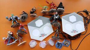 Disney Infinity 2,0 + 3,0 mit 2 Platten und 11 spielbaren Charakteren +++