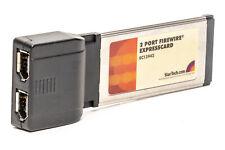 Startech EC13942 2 Port ExpressCard FireWire Adapter Card