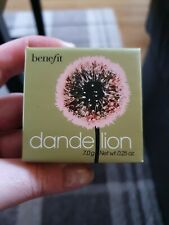 Benefit Dandelion Pink Blusher, Brightening Face Powder, 7g Full Size RRP £27!