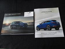 2016 Jaguar F-Pace SUV Brochure Set Premium Prestige R-Sport S Sales Catalog