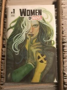 WOMEN OF MARVEL #1 ROGUE STEPHANIE HANS TRADE DRESS VARIANT COVER 2021 x-men