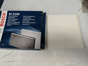 BOSCH CABIN / POLLEN AIR FILTER M2106 FITS CHYSTLER DODGE FIAT FORD LANCIA