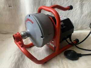 Ridgid Kollmann K-40  Sink drain cleaning machine And New Snake Cable 25ft