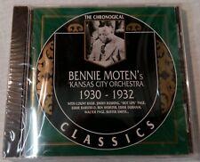The Chronogical Classics - Bennie Moten Kansas City Orchestra 1930-32 - Neu! (R)