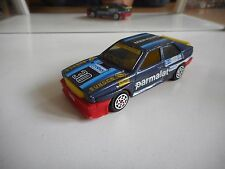 Hotwheels Audi Coupe Quattro in Dark Blue on 1:43