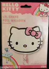 "Anagram Sanrio Hello Kitty Character  Jr. Shape Foil Balloon  13""x15"""