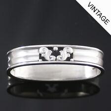 Georg Jensen Silver Napkin Ring, Closed - Acorn/ Konge #110A - VINTAGE