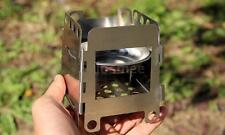 Portable Fold Wood Stove Pocket Alcohol Stove Outdoor Camping Backpacking M9F2