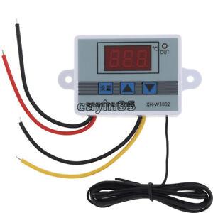 1PCS AC 110V-220V Digital LED Temperature Controller Microcomputer Thermostat