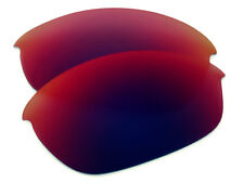 Red Purple Polarized Replacement Sunglass Lenses for Oakley Half Jacket