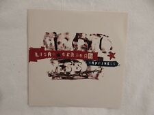"LISA GERMANO ""Happiness "" VERY RARE ADVANCE BRAND NEW PROMO ONLY CD!"