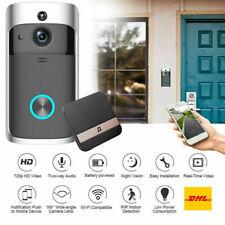 Akku Doorbell Türklingel Video Türsprechanlage Wifi Wlan Smart HD Außenstation