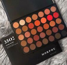 New Morphe 35O 2 Second Nature Makeup Eyeshadow Palette & Free shipping