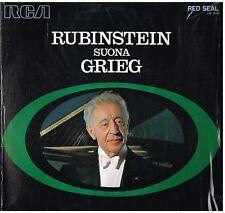 Artur Rubinstein: Rubinstein Suona Grieg - LP