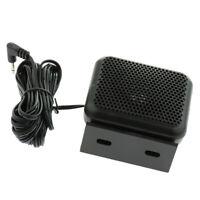 1 Pack 3.5mm Jack Car Radio External Speaker for Yaesu FT-1802M / FT-1807M