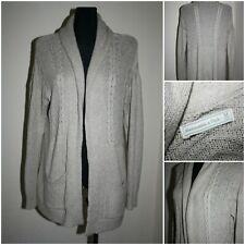 ABERCROMBIE & FITCH Women's size MEDIUM Knit Open Front Jumper / Sweater