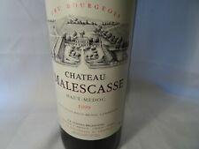 Chateau Malescasse Haut Médoc 1999 mis en bouteille au chateau